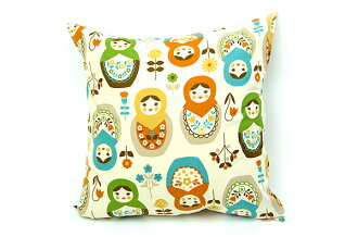 Cushion 45 x 45 cm matryoshka