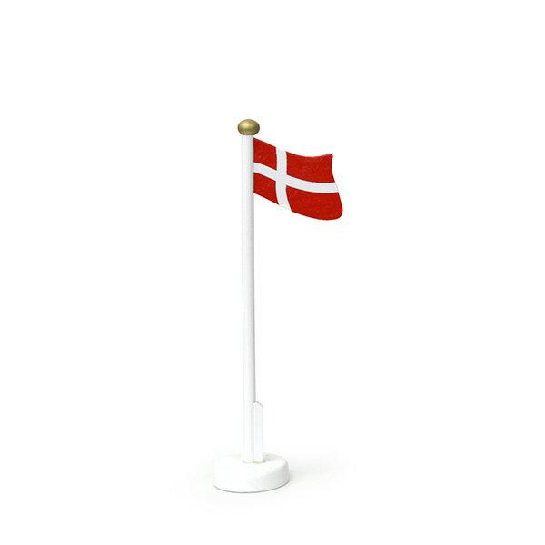 Larsendanmark ラーセンデンマーク 木製デンマーク国旗 23.5cm