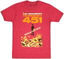 ショッピングEDITION [Out of Print] Ray Bradbury / Fahrenheit 451 Tee 2 (Red)