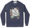 【Out of Print】 Lewis Carroll / Alice im Wunderland Sweatshirt (Navy)