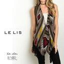 【AW1101】【メール便可】〈LELIS〉ライトブラウントライバルベスト/ロンハーマン RHC Cher ZARA H&M好きにおすすめ/西海岸