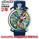 【国内正規品】GaGa MILANO ガガミラノ 腕時計 ウォッチ メンズ MANUALE 48MM マニュアーレ48mm 5010.MOSAICO1S