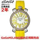 【国内正規品】GaGa MILANO ガガミラノ 腕時計 ウォッチ レディース MANUALE 35MM STONES マニュアーレ35mmストーンズ 6025.06