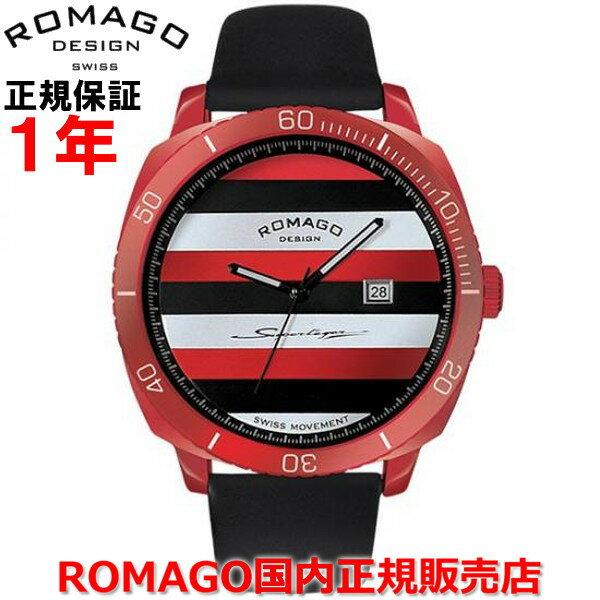 【国内正規品】ROMAGO DESIGN/ロマゴ デザイン メンズ レディース 腕時計 Superleger RM049/スーパーレジャー  RM049-0429ST-RD   【10P03Dec16】  イタリアの車体製造技術を基にケースやベルトにスポーツカーレベルのアルミニウム素材を採用、さらに鮮やかな発色と耐久性を誇るIP加工により独特な雰囲気を醸し出す。
