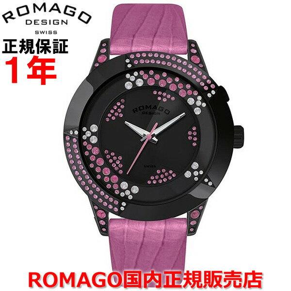 【国内正規品】 ROMAGO DESIGN/ロマゴ デザイン メンズ レディース 腕時計  Starlet/スターレットシリーズ  RM011-0206ST-PK   【10P03Dec16】  無数の星が輝く宇宙の如く、「小さな星々」をイメージさせるこのモデルは、スタイリッシュさの中にも神秘的な魅力を備える。