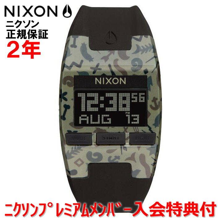 【国内正規品】  NIXON/ニクソン 腕時計 レディース  Comp S 31mm/コンプS  NA3361716-00  【10P03Dec16】:Jewelry&Watch LuxeK 着用シーンを選ばない極薄&超軽量の新次元スケルトンウォッチComp S/コンプS Khaki Camo/カーキカモ