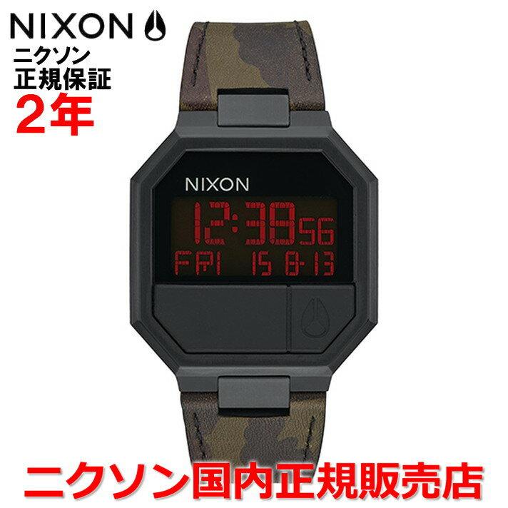 【国内正規品】☆レビューをご記入いただいたお客様にNIXONオリジナルノベルティをプレゼント!!☆  NIXON ニクソン 腕時計 メンズ レディース  Re-Run Leather/リ-ランレザー   NA9442255-00   【10P05Nov16】