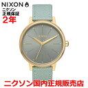 【国内正規品】NIXON ニクソン 腕時計 メンズ レディース Kensington Leather 37mm ケンジントンレザー37mm NA1082814-00