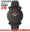 【国内正規品】GaGa MILANO ガガミラノ 腕時計 ウォッチ メンズ レディース MANUALE THIN 46MM マニュアーレシン46mm 5092.01 SWISS MADE