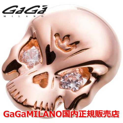 【国内正規品】【売れ筋】GaGa MILANO/ガガミラノ Men's Ladies/メンズ レディース Leather Bracelet/レザーブレスレット SKULL4モデル/スカル PG 【10P03Dec16】 :Jewelry&Watch LuxeK 革ブレスレット 【ドクロ】【Pg/ピンクゴールド】