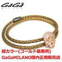 【国内正規品】【売れ筋】GaGa MILANO/ガガミラノ Men's Ladies/メンズ レディース Leather Bracelet/レザーブレスレット ...