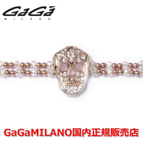 【国内正規品】【売れ筋】GaGa MILANO/ガガミラノ Men's Ladies/メンズ レディース It Bracelet/ItブレスレットITB SKULL/スカル PG/PNK【10P03Dec16】  【ドクロ】【Pink Gold/Green ピンクゴールド/ピンク】