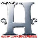 【国内正規品】【雑誌CLASSY 2016年9月号掲載モデル】GaGa MILANO ガガミラノ Men's Ladies/メンズ レディース HBブレス/紐ブレスレット HB-INITIAL2-H イニシャル