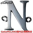 """【国内正規品】GaGa MILANO ガガミラノ Men's Ladies/メンズ レディース HBブレス/紐ブレスレット HB-INITIAL2-N イニシャル""""N"""""""