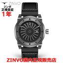 【国内正規品】ZINVO ジンボ メンズ 腕時計 ウォッチGUNMETAL ガン