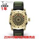 【国内正規品】ZINVO ジンボ メンズ 腕時計 ウォッチ GOLD ゴールド