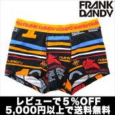 【7/31まで2480円】 FRANK DANDY/ArtPastelito Short Boxer (ブラック) フランクダンディー ボクサーパンツ メンズ【正規品】【楽ギフ_包装選択】【あす楽】誕生日 プレゼント ギフト ラッピング 無料