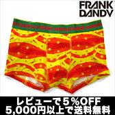 【2枚で送料無料】【レビューで5%OFF】FRANK DANDY/Sprangle Short Boxer (イエロー) フランクダンディー ボクサーパンツ メンズ【正規品】【楽ギフ_包装選択】【あす楽】誕生日 プレゼント ギフト ラッピング 無料