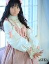 ジャンパースカート ひざ丈 ワインレッド ブラック ピンク S L ロリータファッション