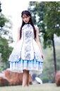 レディース ロリータファッション ワンピース セット ホワイト