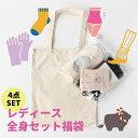 巣ごもり 福袋 レディース 4点セット 腹巻き 靴下 手袋 レッグウォーマー 冷えとり 温活 日本製 ギフト プレゼント