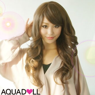 Wig extension heat resistant フルウィッグ wig wig WIG long extensions only shipping with Internet cosplay sale SALE AQUADOLL アクアドール