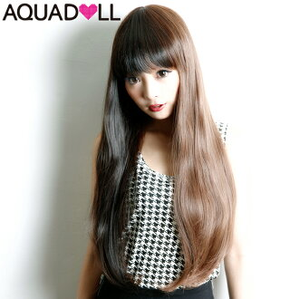 Wigs extensions heat-resistant フルウィッグ wig WIG long dedicated shipping with Internet wedding sale SALE AQUADOLL アクアドール