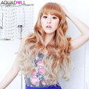 Christmas present % OFF sale SALE AQUADOLL aqua Dole that includes the postage with the wig long extension plus Internet Fair tog Rade color [wg101] heat resistance full wig wig extension WIG net