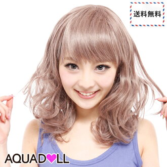 Wigs Extensions AQUADOLL | Adult chiffon Carl Medium wig [wg043]