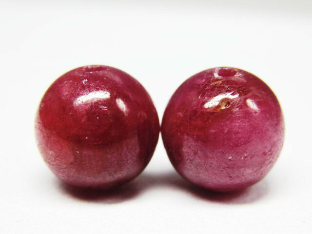 Power Stone beads Ruby 10 mm/1 grain