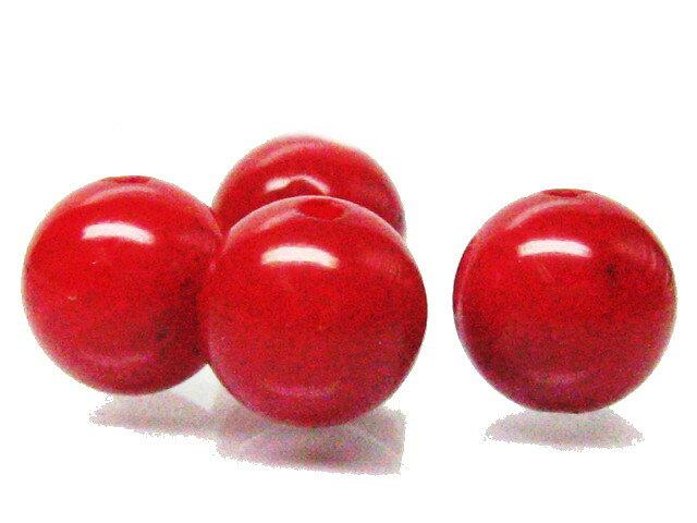 ビーズ 赤珊瑚 6.0mm玉/1粒