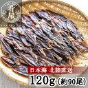 【期間限定1000円ポッキリ】ほたるいか 素干し 120g(約90尾入) 肝入り 無添加 日本海産