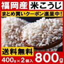 【送料無料】福岡県産 米こうじ 800g(400g×2)【乾...