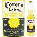 【メキシカンビール】コロナ エキストラ(コロナビール) 瓶 355ml <小瓶 瓶ビール 輸入ビール>