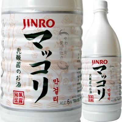 JINRO(ジンロ) マッコリ 1Lペット【韓国...の商品画像