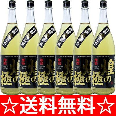 【送料無料】篠崎 25°煌の極 1.8L×6本(1ケース)(麦焼酎)<焼酎 麦焼酎 ギフト プレゼント Gift お酒>