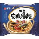 楽天大きいサイズのLYLON JAPAN【送料無料】新商品 農心 海鮮 安城湯麺 10袋 韓国 食品 食材 インスタント ラーメン さっぱりとした辛さ 乾麺 非常食