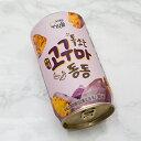 ウリスル しゅわっと 微炭酸 缶 マッコリ さつま芋 350ml 6度 6缶 韓国 食品 食材 料理 発酵 お酒 乳酸菌 伝統酒 果物 カクテル