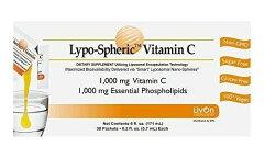 【1月28日入荷予定】リポスフェリック ビタミンC (30包)LivOn社推奨 リポソーム ビタミンC サプリメント