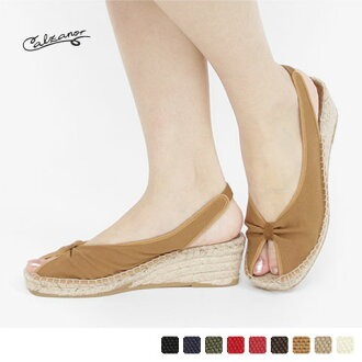 Calzanor - カルザノール - canvas Bax strap sandals ☆ ☆ ◇ ◇