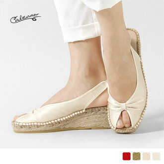 Calzanor - カルザノール - Cotton satin Bax strap sandals ☆ ☆ ◇ ◇