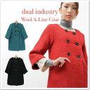 ‡◆◆dual industry - デュアル インダストリー - ウールコート☆☆【smtb-KD】【select-shop】