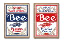 【トランプ】 Bee(ビー)カード ≪ポーカーサイズ≫【ネコポス対応可】