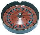 【トランプ カジノグッズ】 ルーレット ウィル型 灰皿(SS)