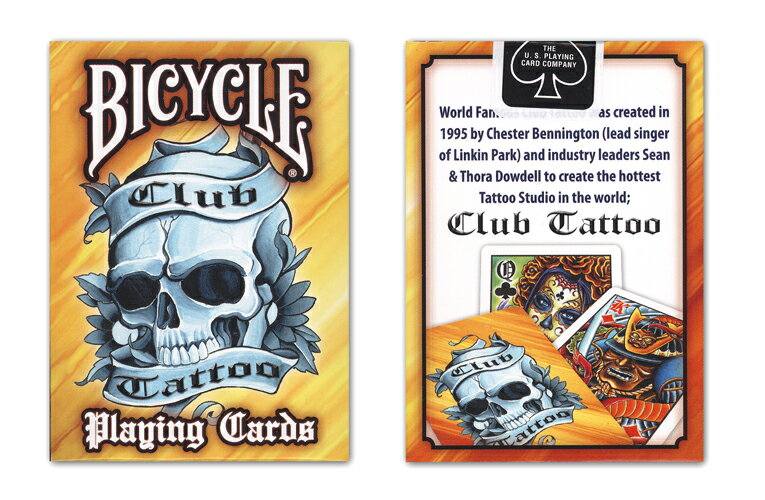 Bicycle club tattoo deck v2 for Bicycle club tattoo deck