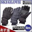 スキーグローブメンズ/メンズスキーグローブ/メンズスノーグローブ/男性用スキー手袋/メンズ防寒グローブ/メンズ防寒手袋/sp-100