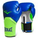 Everlast エバーラスト プロスタイルエリート練習用ボクシンググローブ16oz ブルーグリーン 並行輸入品