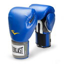 Everlast エバーラスト プロスタイル練習用ボクシンググローブ12oz ブルー 並行輸入品