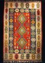 カイセリ産手織キリムの中でも上質クラス!織りと色合いの美しさはマンモスの折り紙つき。華や...