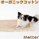 犬用【ドット柄レース付きカフェマット】Sサイズ純オーガニックコットン100%のドッググッツ(Cafe mat)